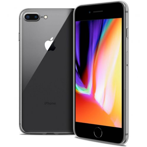 "Coque Apple iPhone 8 Plus (5.5"") Extra Fine Souple Crystal Clear"