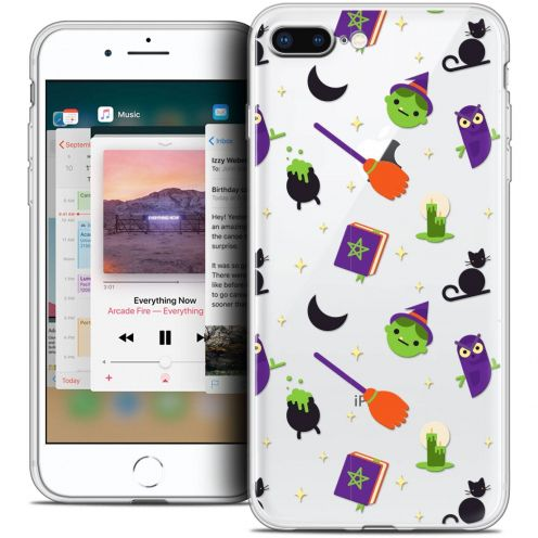 "Coque Crystal Gel Apple iPhone 8 Plus (5.5"") Extra Fine Halloween - Witch Potter"