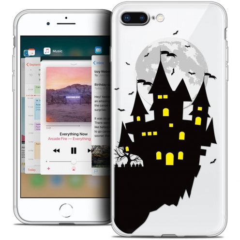 "Coque Crystal Gel Apple iPhone 8 Plus (5.5"") Extra Fine Halloween - Castle Dream"