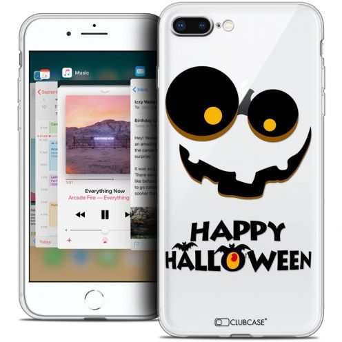 "Coque Crystal Gel Apple iPhone 8 Plus (5.5"") Extra Fine Halloween - Happy"