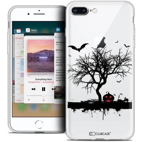 "Coque Crystal Gel Apple iPhone 8 Plus (5.5"") Extra Fine Halloween - Devil's Tree"