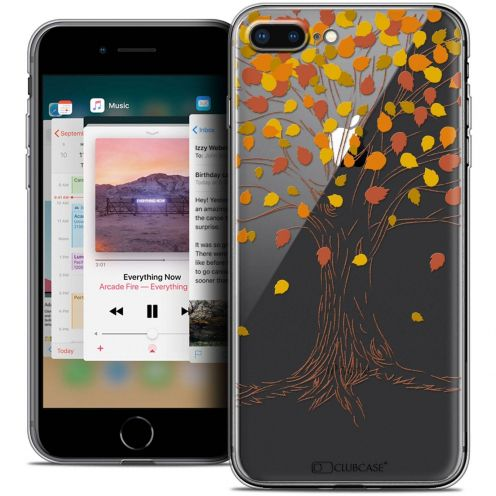 "Coque Crystal Gel Apple iPhone 8 Plus (5.5"") Extra Fine Autumn 16 - Tree"
