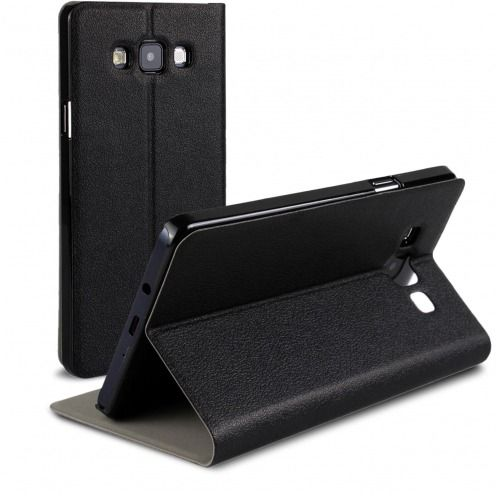 Slim Folio Smart Magnet Case for Galaxy A7 Black