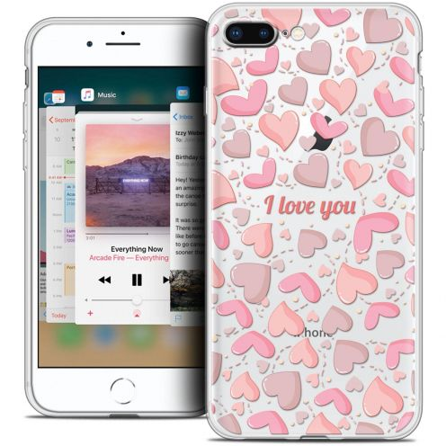 "Coque Crystal Gel Apple iPhone 8 Plus (5.5"") Extra Fine Love - I Love You"