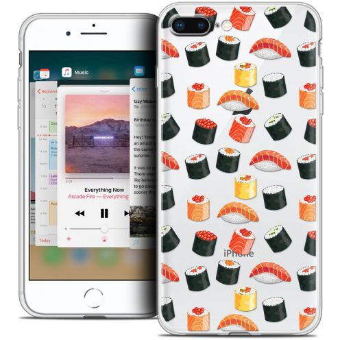 """Coque Crystal Gel Apple iPhone 8 Plus (5.5"""") Extra Fine Foodie - Sushi"""