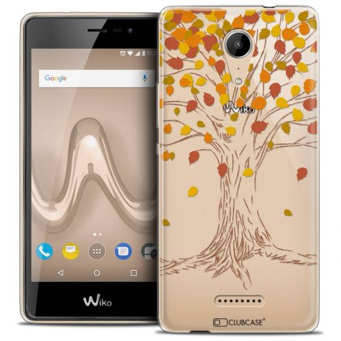 """Coque Crystal Gel Wiko Tommy 2 (5"""") Extra Fine Autumn 16 - Tree"""