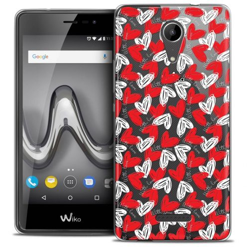 """Coque Crystal Gel Wiko Tommy 2 (5"""") Extra Fine Love - With Love"""
