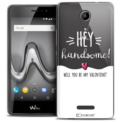 """Coque Crystal Gel Wiko Tommy 2 (5"""") Extra Fine Love - Hey Handsome !"""