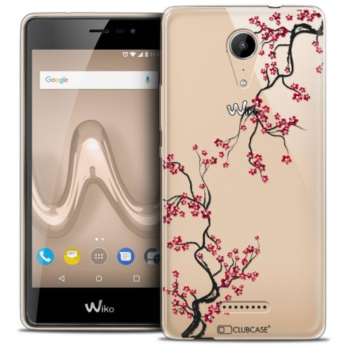 "Coque Crystal Gel Wiko Tommy 2 (5"") Extra Fine Summer - Sakura"