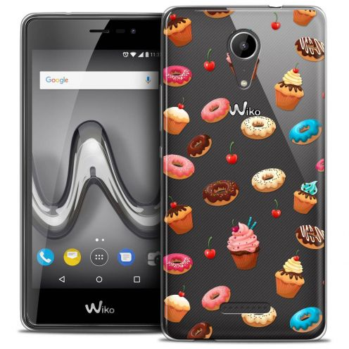 """Coque Crystal Gel Wiko Tommy 2 (5"""") Extra Fine Foodie - Donuts"""
