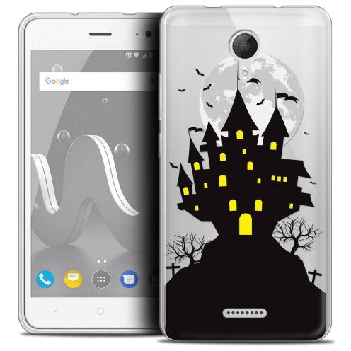 "Coque Crystal Gel Wiko Jerry 2 (5"") Extra Fine Halloween - Castle Scream"
