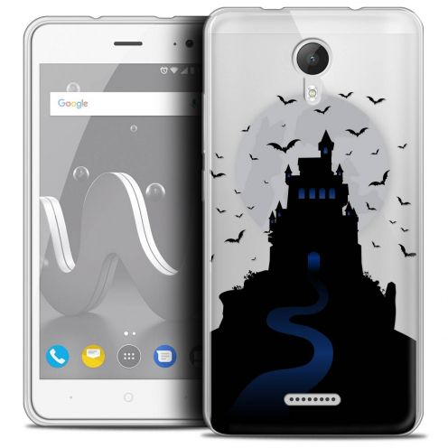 "Coque Crystal Gel Wiko Jerry 2 (5"") Extra Fine Halloween - Castle Nightmare"