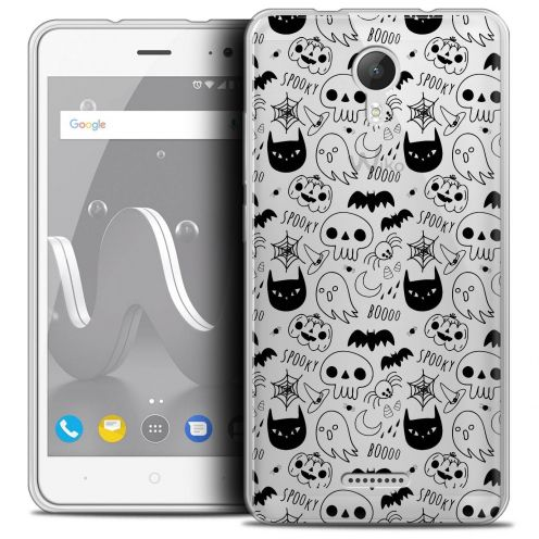 "Coque Crystal Gel Wiko Jerry 2 (5"") Extra Fine Halloween - Spooky"