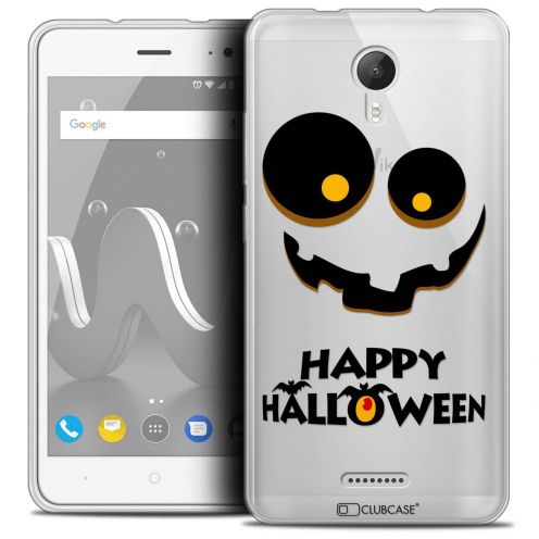 "Coque Crystal Gel Wiko Jerry 2 (5"") Extra Fine Halloween - Happy"