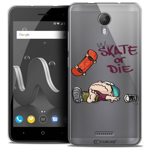 "Coque Crystal Gel Wiko Jerry 2 (5"") Extra Fine BD 2K16 - Skate Or Die"