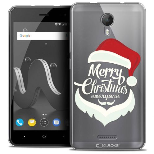 """Coque Crystal Gel Wiko Jerry 2 (5"""") Extra Fine Noël 2017 - Merry Everyone"""