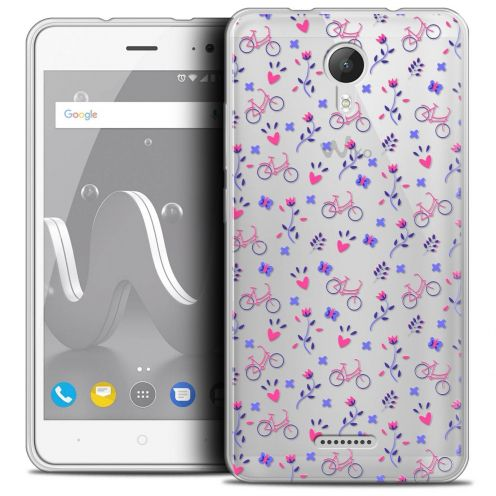 """Coque Crystal Gel Wiko Jerry 2 (5"""") Extra Fine Love - Bicycle"""