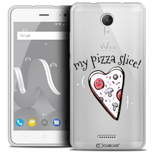 "Coque Crystal Gel Wiko Jerry 2 (5"") Extra Fine Love - My Pizza Slice"