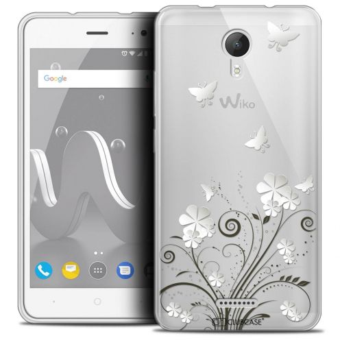 """Coque Crystal Gel Wiko Jerry 2 (5"""") Extra Fine Summer - Papillons"""