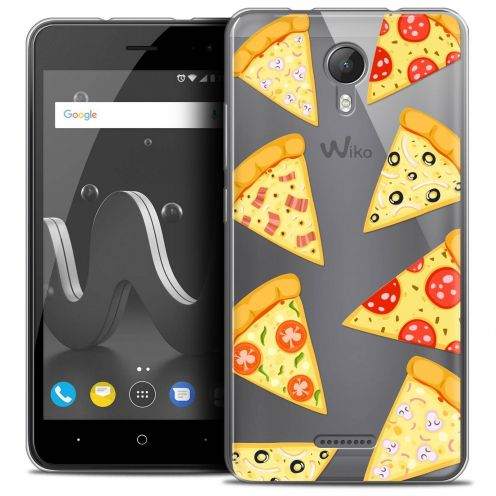 """Coque Crystal Gel Wiko Jerry 2 (5"""") Extra Fine Foodie - Pizza"""