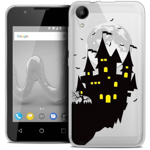 "Coque Wiko Sunny 2 Crystal Gel (4"") Extra Fine Halloween - Castle Dream"