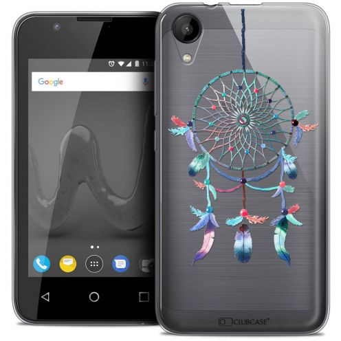 "Coque Wiko Sunny 2 Crystal Gel (4"") Extra Fine Dreamy - Attrape Rêves Rainbow"