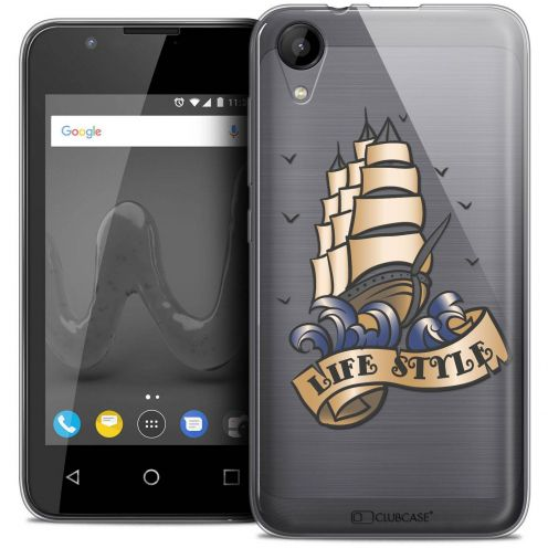 """Coque Wiko Sunny 2 Crystal Gel (4"""") Extra Fine Tatoo Lover - Life Style"""