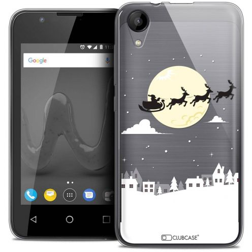 "Coque Wiko Sunny 2 Crystal Gel (4"") Extra Fine Noël 2017 - Flying Stanta"