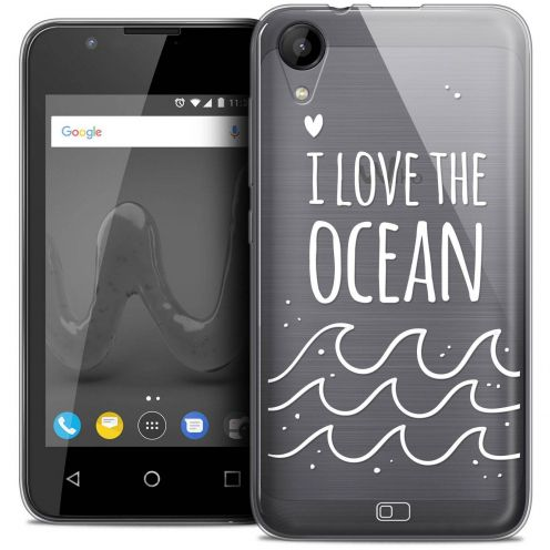 "Coque Wiko Sunny 2 Crystal Gel (4"") Extra Fine Summer - I Love Ocean"