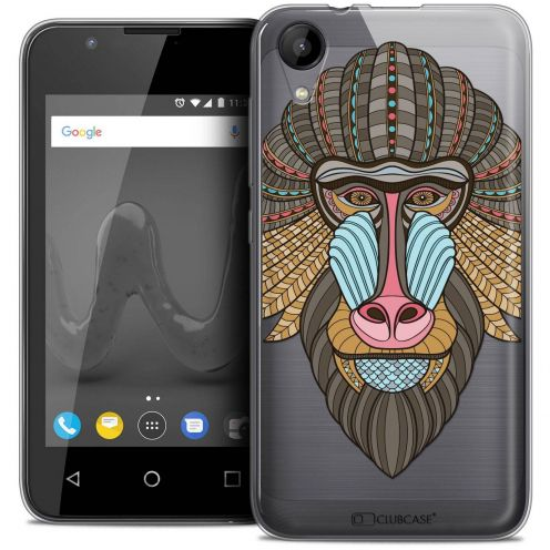 """Coque Wiko Sunny 2 Crystal Gel (4"""") Extra Fine Summer - Babouin"""