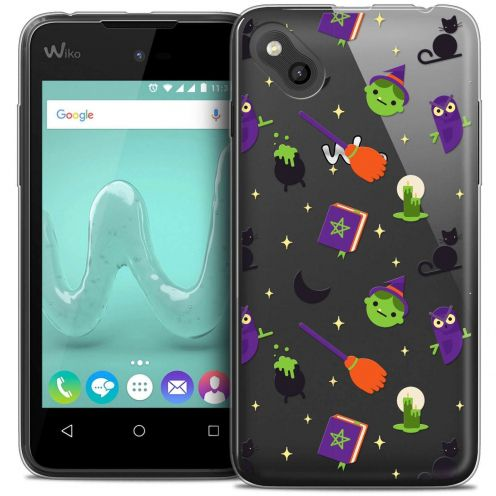 """Coque Wiko Sunny Crystal Gel (4"""") Extra Fine Halloween - Witch Potter"""