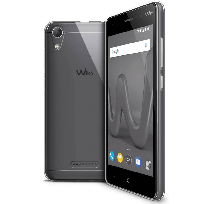 """Coque Wiko Lenny 4 (5"""") Extra Fine Souple Crystal Clear"""