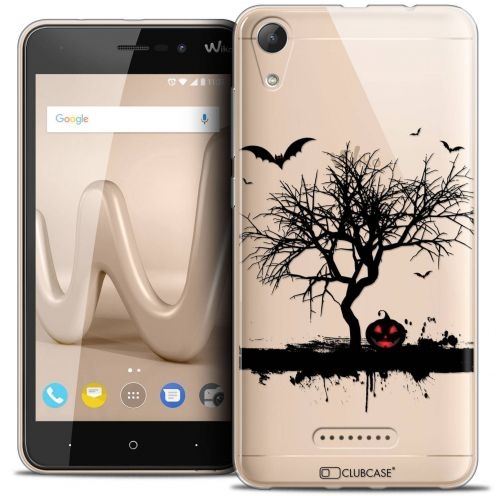 "Coque Crystal Gel Wiko Lenny 4 (5"") Extra Fine Halloween - Devil's Tree"