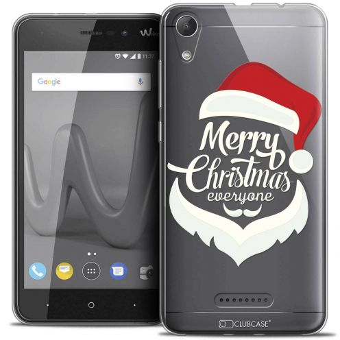 "Coque Crystal Gel Wiko Lenny 4 (5"") Extra Fine Noël 2017 - Merry Everyone"