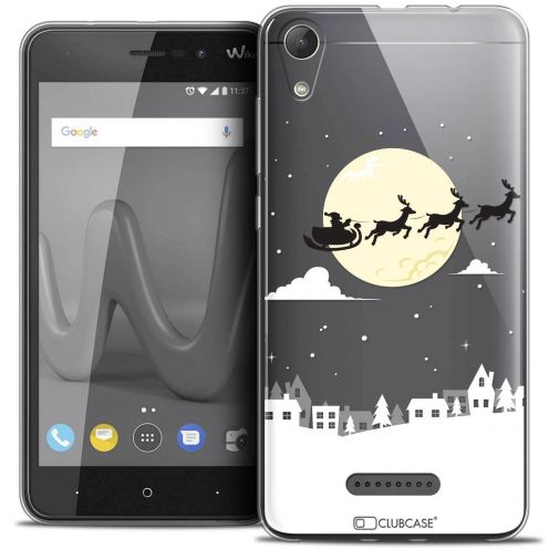 "Coque Crystal Gel Wiko Lenny 4 (5"") Extra Fine Noël 2017 - Flying Stanta"