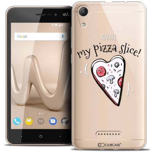 "Coque Crystal Gel Wiko Lenny 4 (5"") Extra Fine Love - My Pizza Slice"