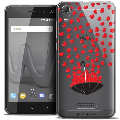 """Coque Crystal Gel Wiko Lenny 4 (5"""") Extra Fine Love - Parapluie d'Amour"""