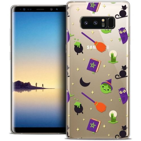 "Coque Crystal Gel Samsung Galaxy Note 8 (6.3"") Extra Fine Halloween - Witch Potter"