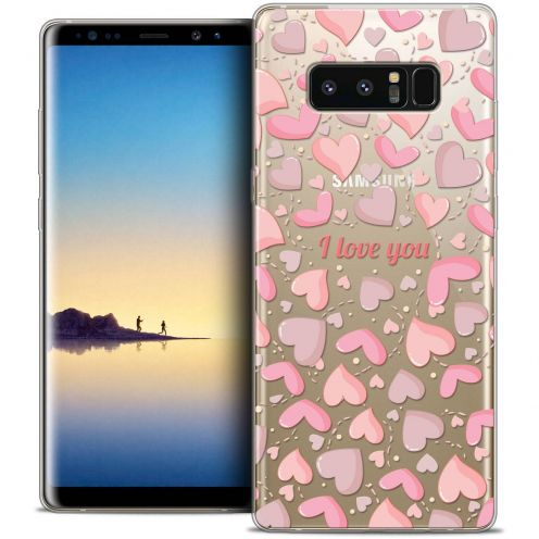 "Coque Crystal Gel Samsung Galaxy Note 8 (6.3"") Extra Fine Love - I Love You"