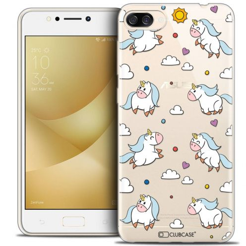 "Coque Crystal Gel Asus Zenfone 4 MAX ZC520KL (5.2"") Extra Fine Fantasia - Licorne In the Sky"
