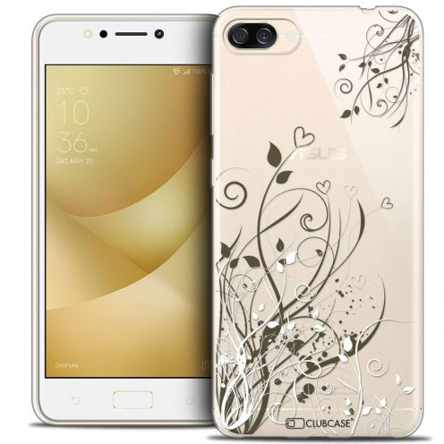"Coque Crystal Gel Asus Zenfone 4 MAX ZC520KL (5.2"") Extra Fine Love - Hearts Flowers"