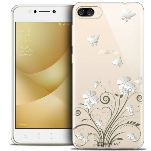 "Coque Crystal Gel Asus Zenfone 4 MAX ZC520KL (5.2"") Extra Fine Summer - Papillons"