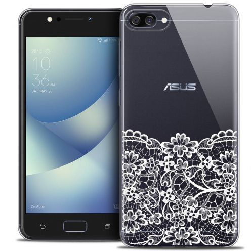 "Coque Crystal Gel Asus Zenfone 4 MAX ZC520KL (5.2"") Extra Fine Spring - Bas dentelle"