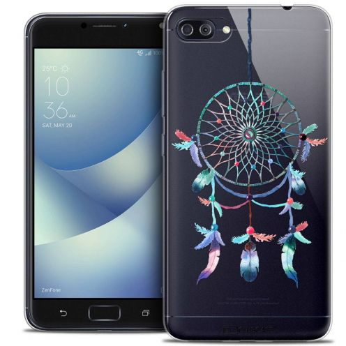 "Coque Crystal Gel Asus Zenfone 4 MAX PLUS / Pro ZC554KL (5.5"") Extra Fine Dreamy - Attrape Rêves Rainbow"