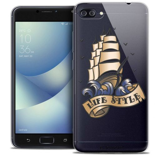 """Coque Crystal Gel Asus Zenfone 4 MAX PLUS / Pro ZC554KL (5.5"""") Extra Fine Tatoo Lover - Life Style"""