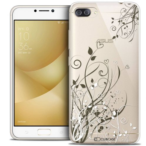 "Coque Crystal Gel Asus Zenfone 4 MAX PLUS / Pro ZC554KL (5.5"") Extra Fine Love - Hearts Flowers"
