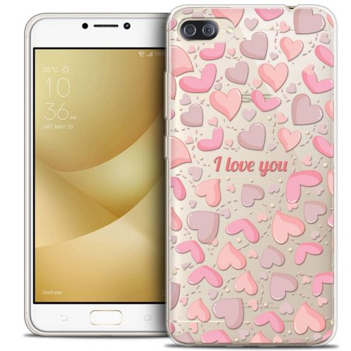 "Coque Crystal Gel Asus Zenfone 4 MAX PLUS / Pro ZC554KL (5.5"") Extra Fine Love - I Love You"