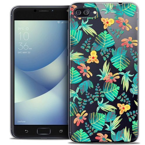 """Coque Crystal Gel Asus Zenfone 4 MAX PLUS / Pro ZC554KL (5.5"""") Extra Fine Spring - Tropical"""