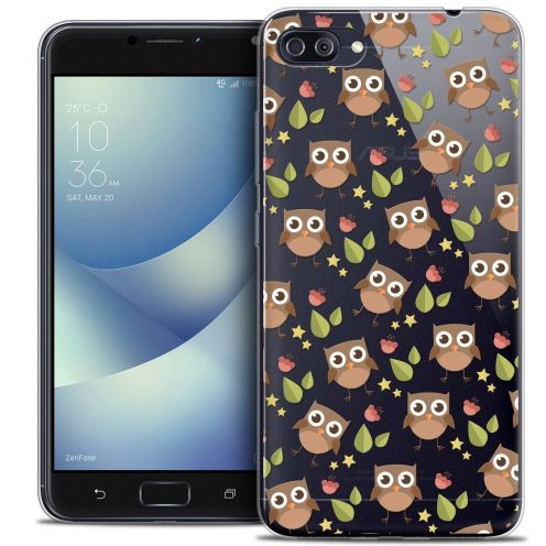 "Coque Crystal Gel Asus Zenfone 4 MAX PLUS / Pro ZC554KL (5.5"") Extra Fine Summer - Hibou"