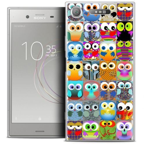 "Coque Crystal Gel Sony Xperia XZ1 (5.2"") Extra Fine Claude - Hibous"